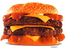 Hardees Burger