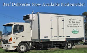 Beef Deliveries Nationwide