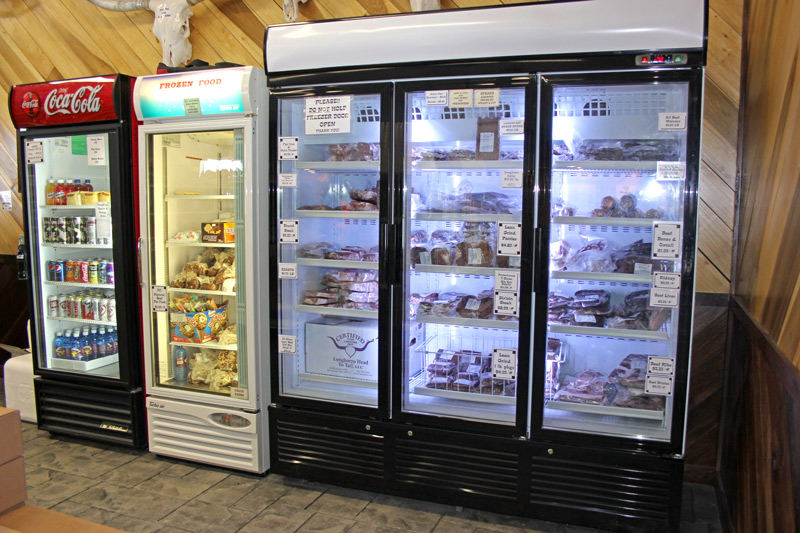 Inside New Store - Freezers