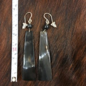 Longhorn Horn Ear Rings