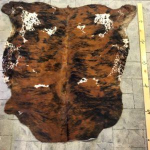 Brown & Black Brindle Hide